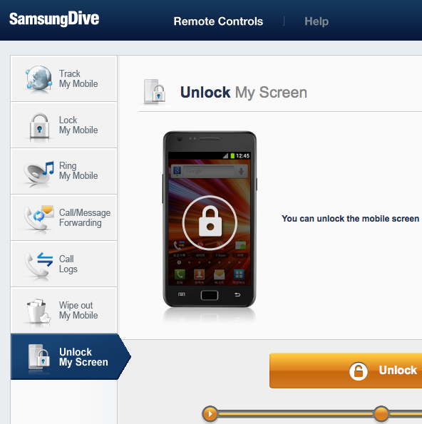 SamsungDive-Screen-Unlock
